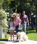 Ben Affleck and Jennifer Garner take their kids to 4th of July Parade