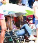 Ben Affleck and Jennifer Garner take their kids to 4th of July Parade 2017