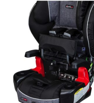 Britax Pinnacle ClickTight review - belt path for clicktight system