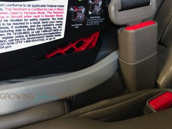 Britax Pinnacle ClickTight review - safe cell technology