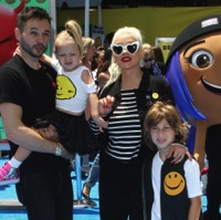 Celebrity Families Attend Emoji Movie Premiere