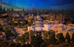 Detailed Model of Star Wars-Themed Lands at Hollywood Studios from D23