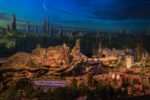 Detailed Model of Star Wars-Themed Lands at Hollywood Studios from D23 4