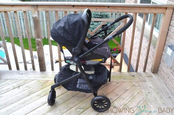 Evenflo Pivot Travel System - infant car seat