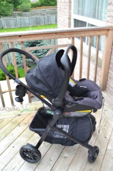 Evenflo Pivot Travel System - infant car seat forward facing