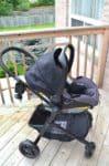 Evenflo Pivot Travel System - infant car seat forward facing