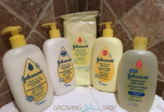 Johnson's Head To Toe Extra Moisturizing skin care routine