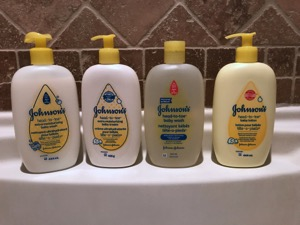 Johnson's Head To Toe Extra Moisturizing skin care routine f