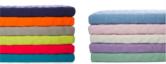 Nook's Pebble Pure Crib Mattress - colors