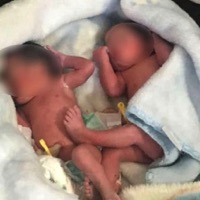 Abandoned Baby Twins Mistaken for Puppies