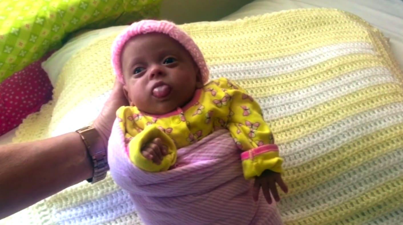 12oz baby Ariana Sophia Cruz-Gutierrez