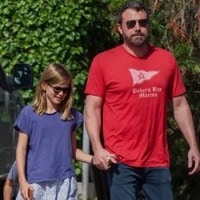 Jennifer Garner & Ben Affleck Attend Sunday Service Together As A Family