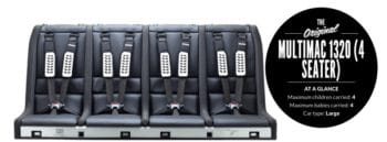 Multimac 4 across car seat unit