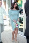Pregnant Roselyn Sanchez promotes her book in NYC