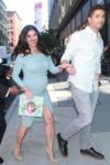 Pregnant Roselyn Sanchez promotes her book in New York City