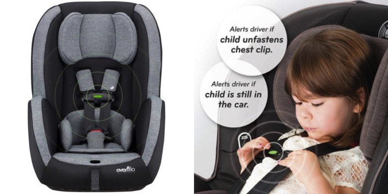 evenflo sensorsafe car seats