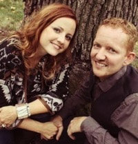Carrie and husband Nick DeKlyen t