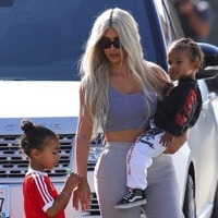 Glowdate!  Kim & Kourtney Take their Kids Out in LA