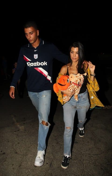 Kourtney Kardashian and Younes Bendjima enjoy a fun date night