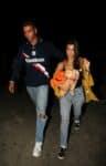 Kourtney Kardashian and Younes Bendjima enjoy a fun date night