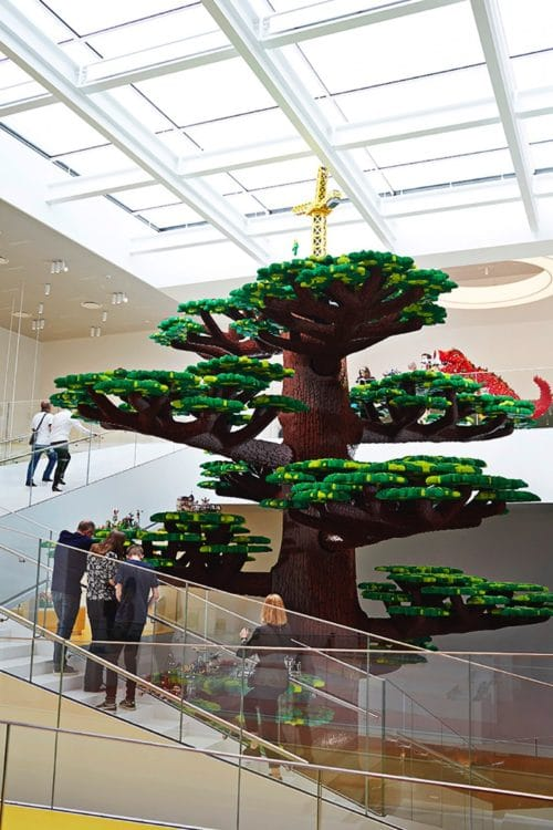 LEGO House Denmark Tree of Creativity