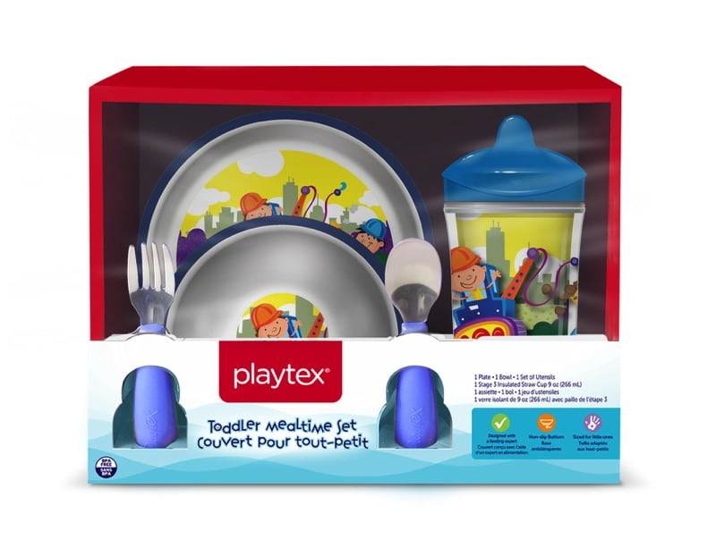 recalled Playtex Mealtime Set Construction