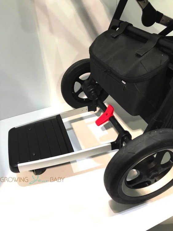 2018 Thule Sleek Stroller -  with ride-on board