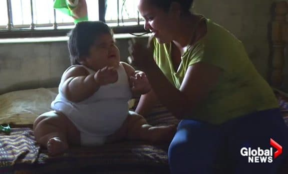 62 pound baby Luis Manuel Gonzales