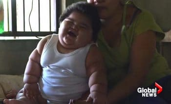 62 pound mexican baby Luis Manuel Gonzales