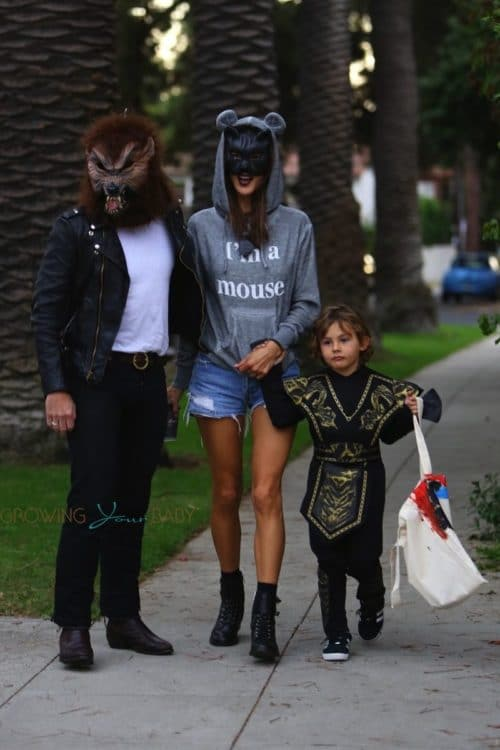 Alessandra-Ambrosio-goes-trick-or-treating-with-her-family-in-Brentwood-