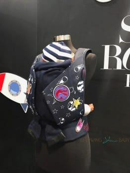 CYBEX Space Rocket Pop Star collection - baby carrier