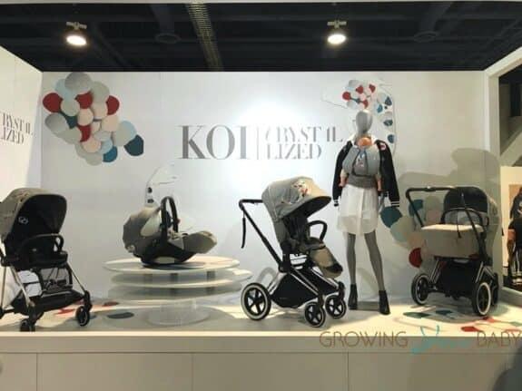 CYBEX crystallized Koi collection
