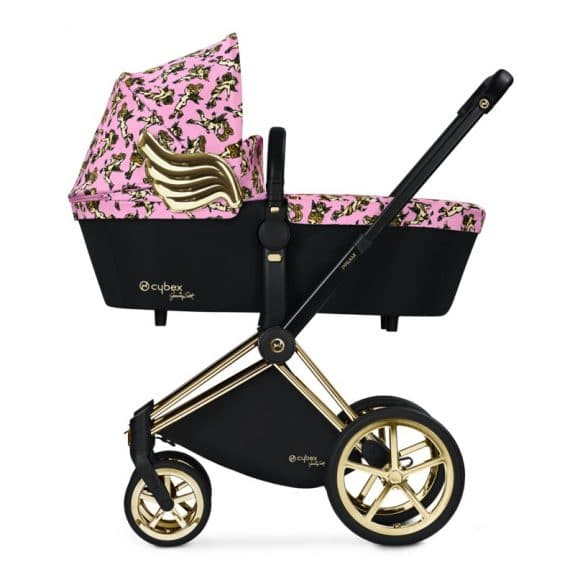 CYBEX x Jeremy Scott - priam carrycot pink