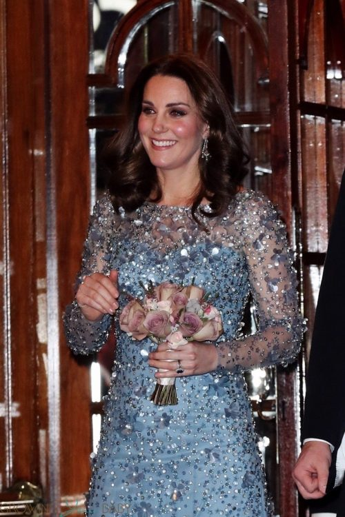 Catherine Duchess of Cambridge attends the Royal Variety Performance