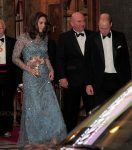 Duke and Duchess of Cambridge are seen leaving the Royal Variety Performance in London