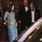 Duke and Duchess of Cambridge leaving Royal Variety Performance