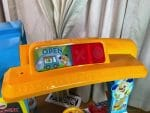 Fisher-Price Laugh & Learn Servin' Up Fun Food Truck - open:close