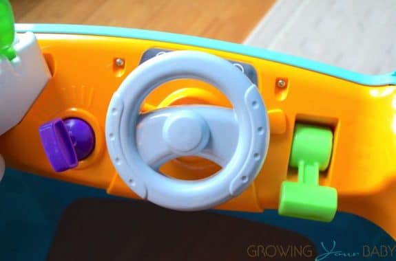 Fisher-Price Laugh & Learn Servin' Up Fun Food Truck - steering wheel