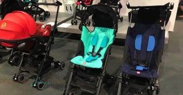 GB pockit, Pockit plus and pockit go strollers