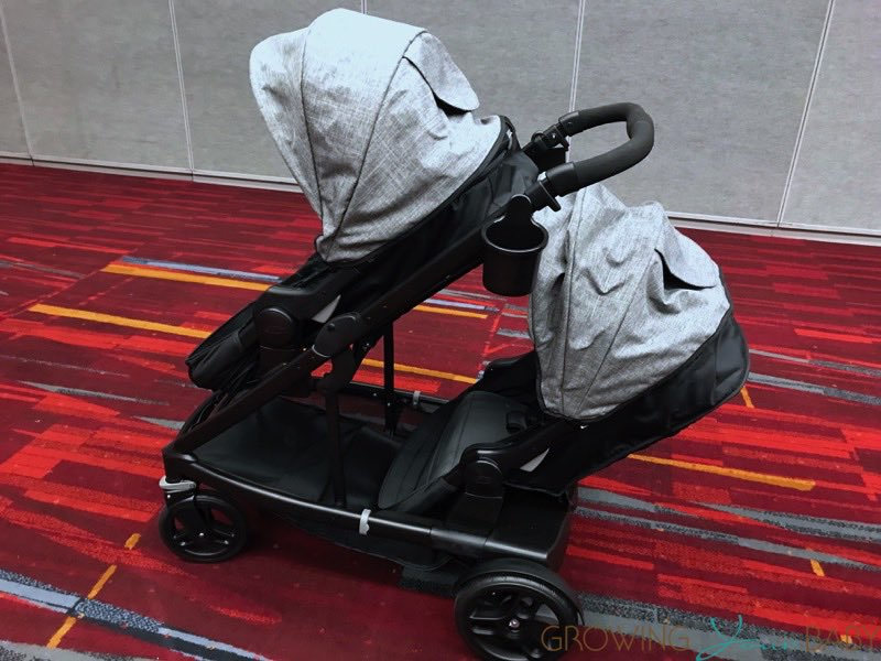 Graco Uno2Duo Stroller - as a double
