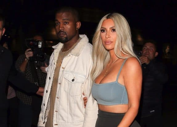 Kim Kardashian West and Kanye West