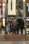 Kris Jenner takes her grandkids North, Penelope and Reign to the movies in Calabasas