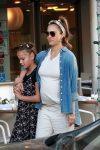 Pregnant Jessica Alba shops on black Friday