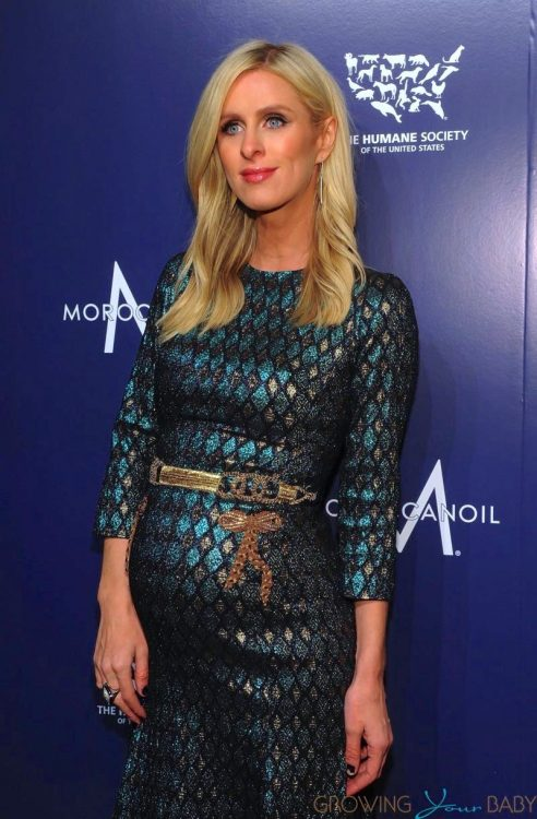 Pregnant Nicky Hilton at the Humane Society's To The Rescue Gala