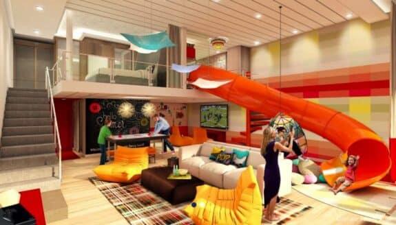 Symphony of the Seas family loft suite