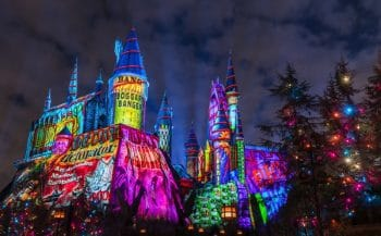 The Magic of Christmas at Hogwarts Castle Universal orlando
