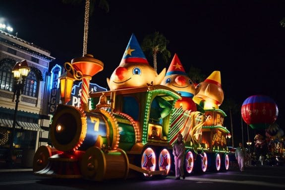 Universal Orlando's Holiday Parade featuring Macy's