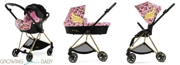cybex by jeremy scott cherub collection - Mios in Pink