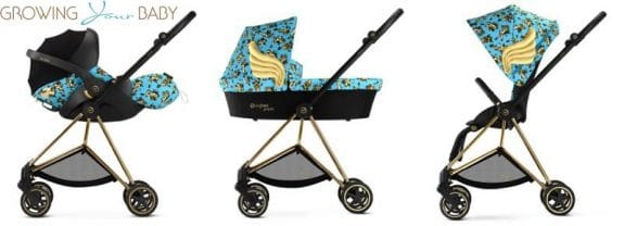 cybex by jeremy scott cherub collection - Mios in blue