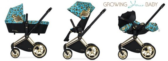 cybex by jeremy scott cherub collection - Priam blue